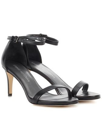 Stuart Weitzman - Nunaked leather pumps - mytheresa.com