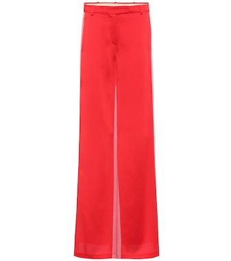 Valentino - Satin trousers - mytheresa.com