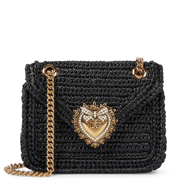 Dolce & Gabbana - Sac Devotion Medium en raphia - mytheresa.com