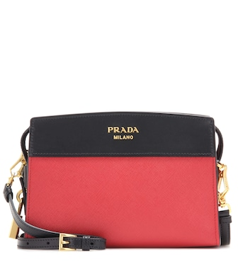 Prada - Esplanade leather shoulder bag - mytheresa.com