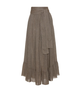 See By Chloé - Wool-blend skirt - mytheresa.com
