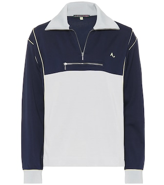AlexaChung - Cotton-blend track top - mytheresa.com
