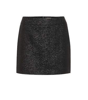 Saint Laurent - Wool-blend miniskirt - mytheresa.com