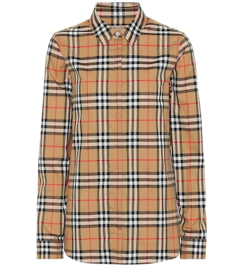 Burberry - Vintage Check cotton shirt - mytheresa.com