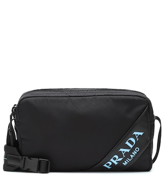 Prada - Nylon shoulder bag - mytheresa.com