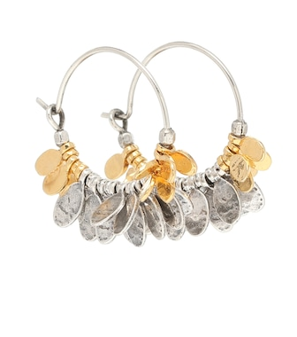Isabel Marant - Embellished hoop earrings - mytheresa.com