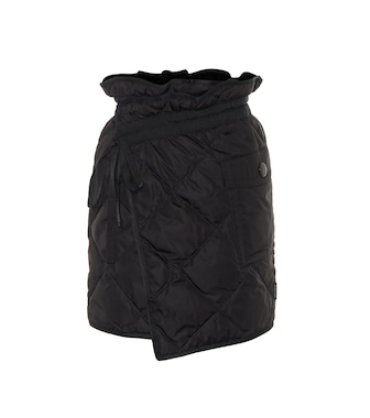 Moncler - Quilted down miniskirt - mytheresa.com