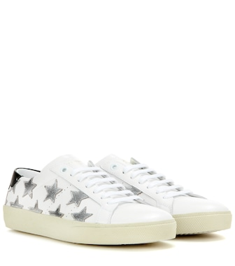 Saint Laurent - SL/06 Court Classic leather sneakers - mytheresa.com