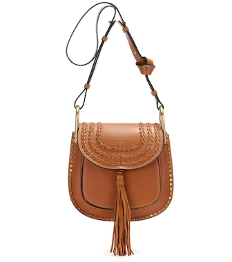 Chloé - Hudson Small leather shoulder bag - mytheresa.com