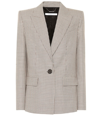 Givenchy - Single-breasted wool blazer - mytheresa.com