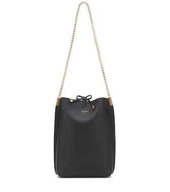 Saint Laurent - Suzanne Small leather shoulder bag - mytheresa.com
