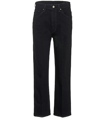 Goldsign - The Cropped A high-rise jeans - mytheresa.com