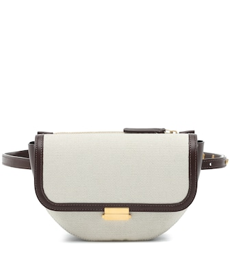 Wandler - Anna Buckle canvas belt bag - mytheresa.com