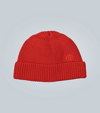 Gucci - Beanie Interlocking G aus Baumwolle - mytheresa.com
