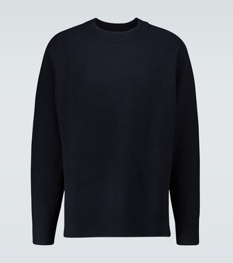 Jil Sander - Virgin wool asymmetric hem sweater - mytheresa.com