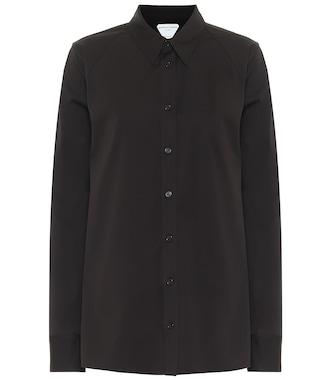 Bottega Veneta - Stretch-cotton shirt - mytheresa.com