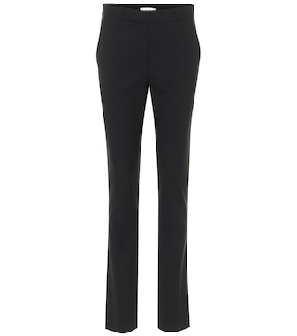 The Row - Franklin stretch wool-blend slim pants - mytheresa.com