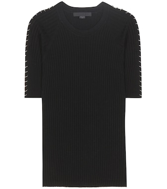 Alexander Wang - Embellished cotton T-shirt - mytheresa.com