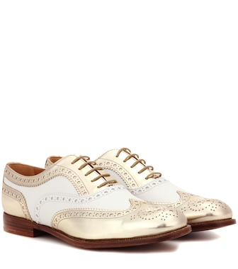 Church's - Burwood leather brogues - mytheresa.com