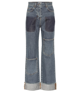 JW Anderson - High-rise straight jeans - mytheresa.com
