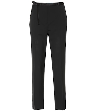 Prada - Wool pants - mytheresa.com