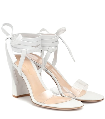 Gianvito Rossi - Exclusive to Mytheresa – Flavia 85 leather sandals - mytheresa.com