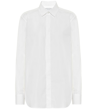 Bottega Veneta - Cotton-poplin shirt - mytheresa.com