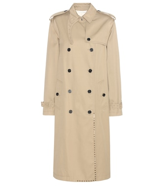 Valentino - Rockstud Untitled trench coat - mytheresa.com