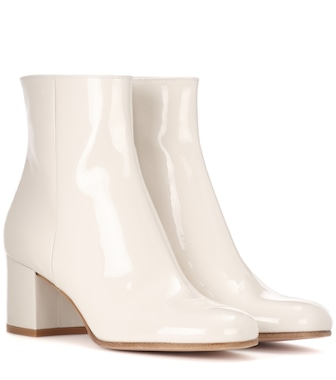 Gianvito Rossi - Margaux leather boots - mytheresa.com