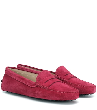 Tod's - Gommino suede loafers - mytheresa.com