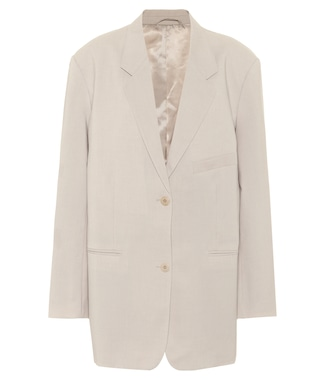 Frankie Shop - Pernille  single-breasted crêpe blazer - mytheresa.com