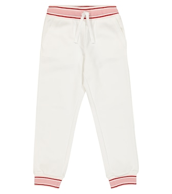 Dolce & Gabbana Kids - Appliqué cotton trackpants - mytheresa.com