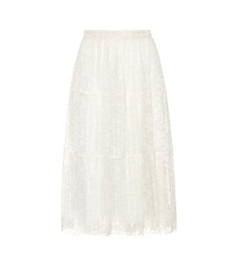 See By Chloé - Pleated lace skirt - mytheresa.com