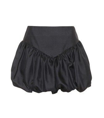 Saint Laurent - Silk miniskirt - mytheresa.com