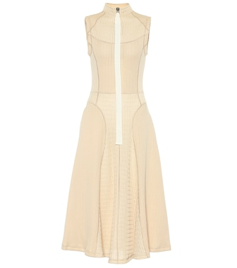 Jil Sander - Knitted midi dress - mytheresa.com