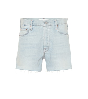 Mother - The Proper denim shorts - mytheresa.com