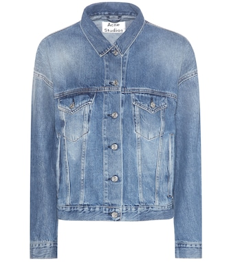 Acne Studios - Lab vintage denim jacket - mytheresa.com