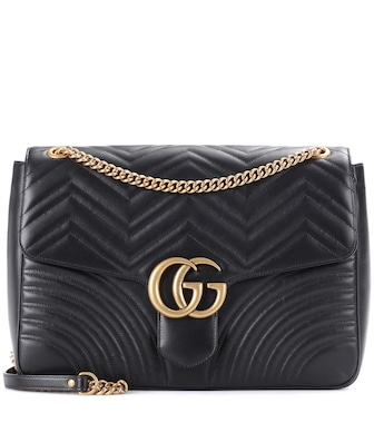 Gucci - Schultertasche GG Marmont Large - mytheresa.com