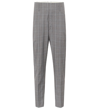 Isabel Marant, Étoile - Noah checked virgin wool pants - mytheresa.com