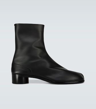 Maison Margiela - Tabi high-ankle leather boots - mytheresa.com