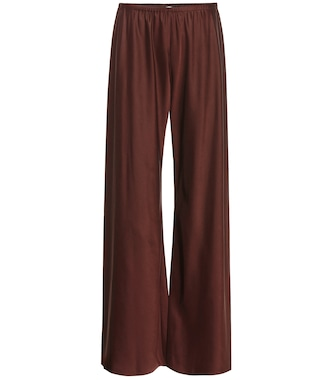 The Row - Gala high-rise palazzo pants - mytheresa.com