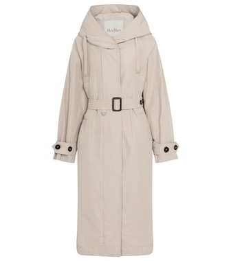 Max Mara - Bparka cotton-blend hooded coat - mytheresa.com