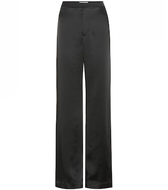 Lanvin - Striped satin trousers - mytheresa.com