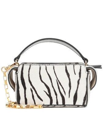 Wandler - Yara Box calf hair shoulder bag - mytheresa.com