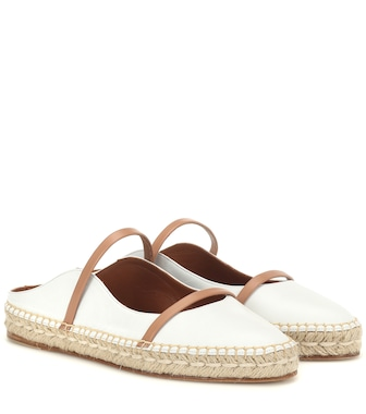 Malone Souliers - Sienna leather espadrilles - mytheresa.com