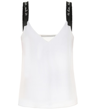 Stella McCartney - Exclusive to Mytheresa – Cady camisole - mytheresa.com