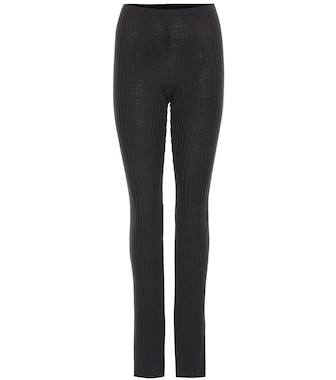 Givenchy - Wool leggings - mytheresa.com