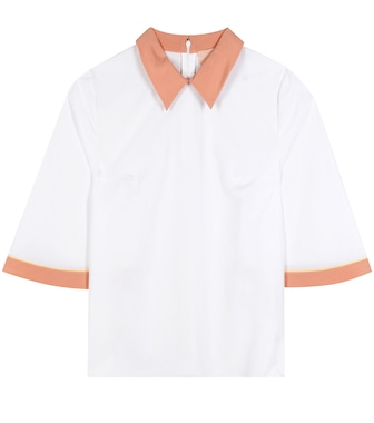 Roksanda - Demi cotton and silk top - mytheresa.com
