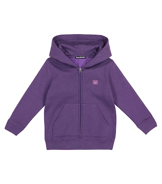 Acne Studios Kids - Mini Ferris Face cotton hoodie - mytheresa.com