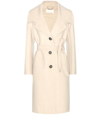 Chloé - Wool and cashmere coat - mytheresa.com